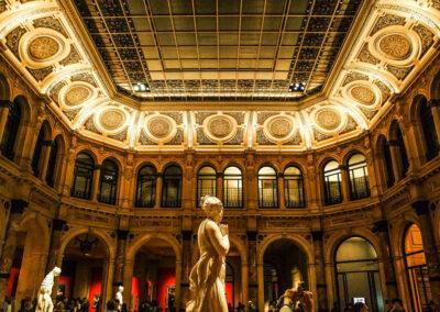 Progettazione e realizzazione di impianti tecnoologici di sicurezza presso Palazzo Zevallos a Napoli, Museo dell'Orologio a Ginevra, Gallera Italia a Milano