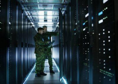 Progettazione e realizzazione di cablaggio strutturato a supporto dei sistemi di comando e controllo del NATO JFAC di Poggio Renatico