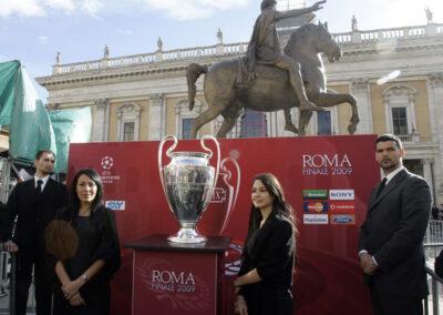Servizi di scorta e trasporto Finale di Champions League a Roma